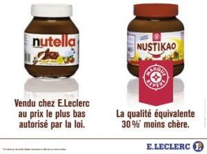 Campagne publicitaire de E.Leclerc de 2004